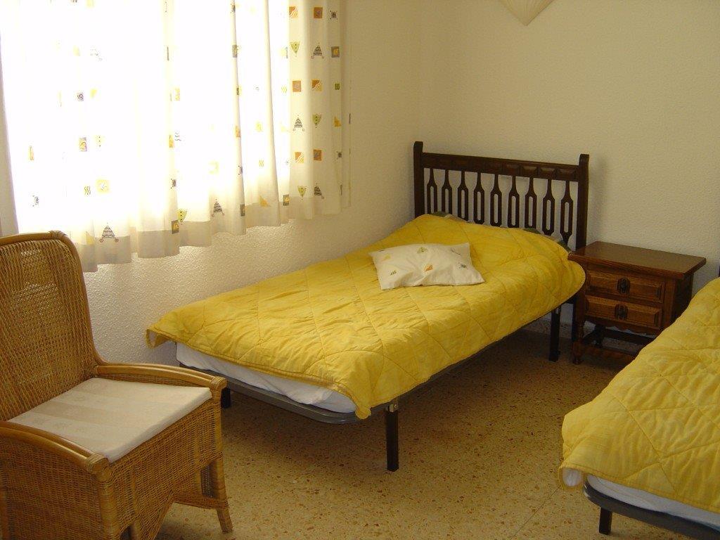 Slaapkamer Villa Cami, Spanje